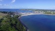 Fly above Tresco Islands | Unated Kingdom (aerial footage 4k)