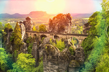 Bastei Bridge In Saxon Switzer...
