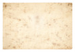 canvas print picture - old paper isolated