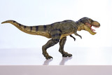 Isolated tyrannosaurus-rex on white background
