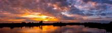 Panorama Reflection Of Vivid S...