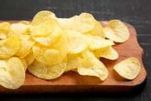 Delicious Potato Chips With Sa...