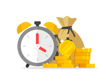 Time And Money Savings Vector ...