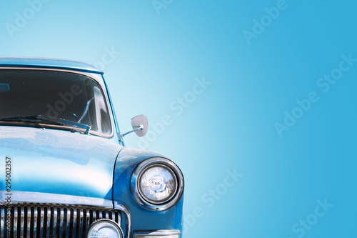 Vintage Russian Car 60-70