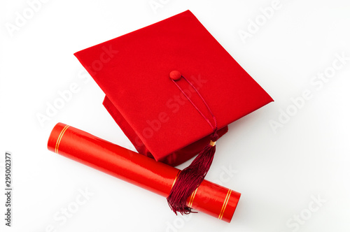 Photo Academic accomplishment, completion certificate of higher education and associat