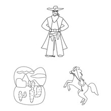 Vector Design Of Western And A...