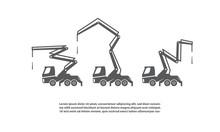 Concrete Pump Trucks Set And D...