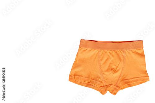 Valokuvatapetti Bright boxer underwear, cotton pants. Isolated background