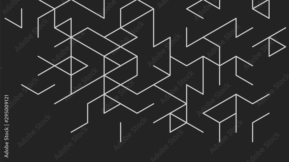 Fototapeta Abstract vector background.