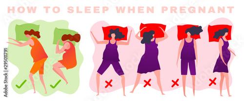 Fényképezés Sleeping posture image