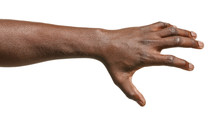 Hand Of African-American Man H...