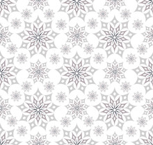 Batik Star Seamless Soft Silve...