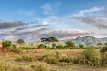 Ethiopian Landscape Near Arba ...