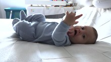 Cute Toddler Baby Infant Layed...