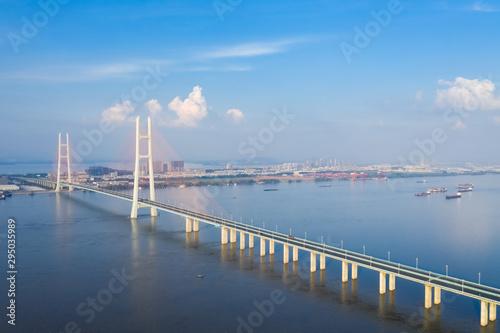 Fototapeta the second jiujiang bridge