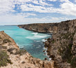 View of the cliffs at the Great Australian Bight