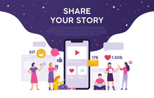 Share Your Story Concept From ...