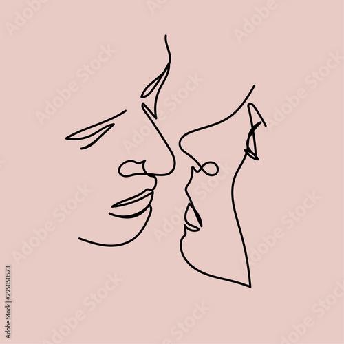 kiss Tableau sur Toile