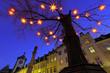 Leinwanddruck Bild - Weihnachtsbaum