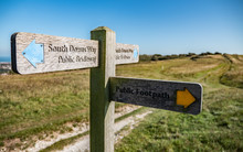 South Downs Way Footpath Sign....
