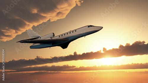 Obraz na plátně Flug in die Sonne