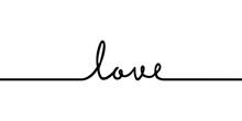 Love - Continuous One Black Li...