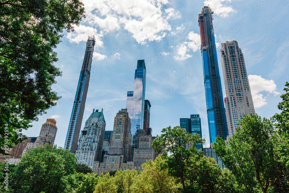 Fototapety, obrazy: Manhattan skyscrapers in New York City, the USA