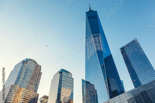Cuadros en Lienzo Manhattan skyscrapers in New York City, the USA