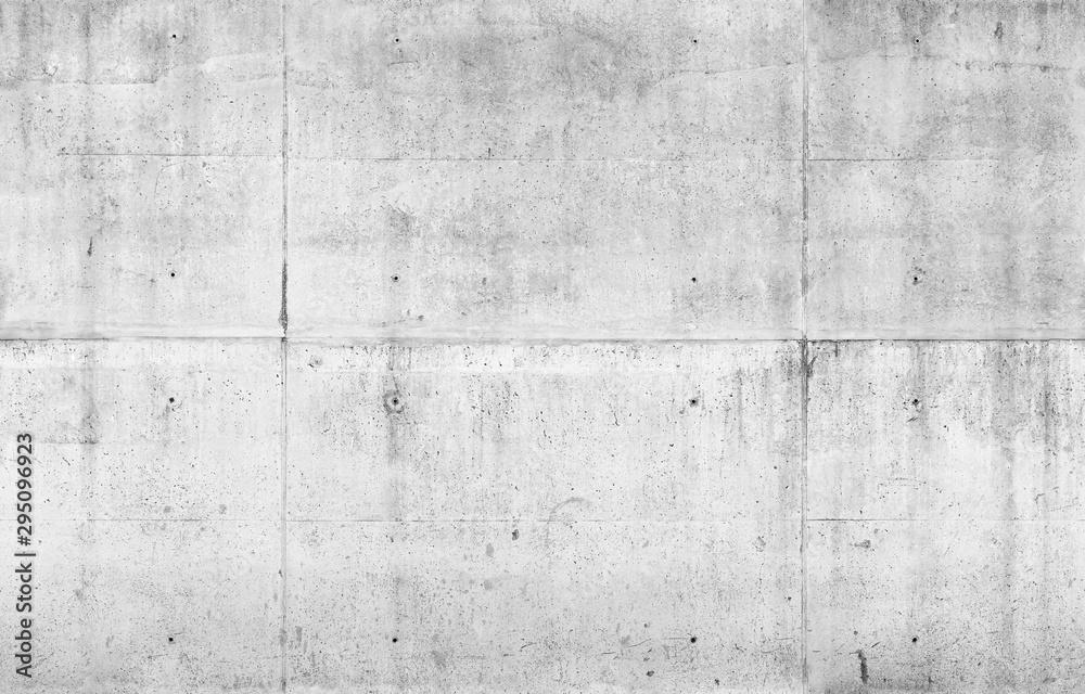 Fototapeta Empty gray concrete wall. Seamless