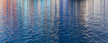 Abstract Rippled Water Surface...
