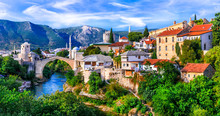 Amazing Iconic Old Town Mostar...