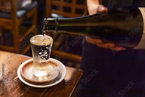 Fotografie, Obraz よく冷えた美味しそうな日本酒