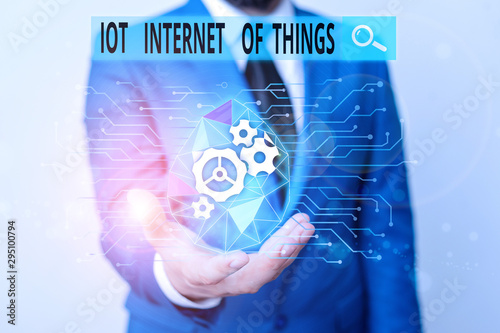 Photo Word writing text Iot Internet Of Things