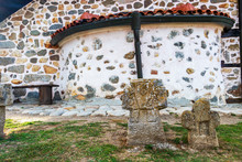 Two Ancient Stone Crosses In F...