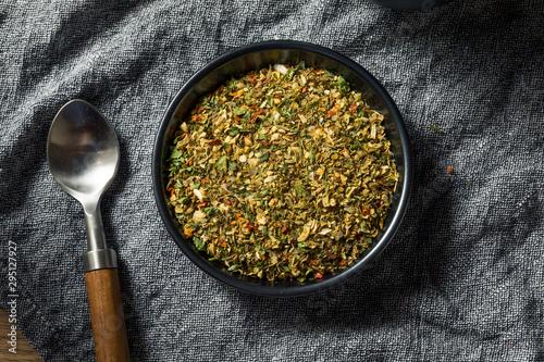 Obraz Dry Organic Pizza Seasoning Spice - fototapety do salonu