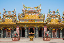 Chinese Shrine And Temple In Bamngkok, Thailand
