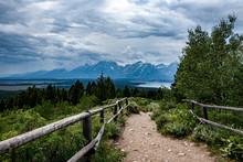 Grand Teton Mountain Range Fro...