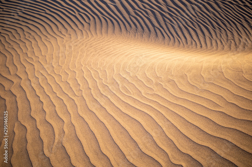 ripples in the sand Canvas