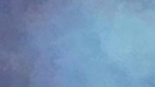 Blue Graduated Hand-painted Ba...