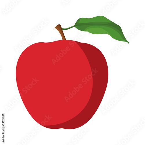 Pinturas sobre lienzo  apple fruit icon image design