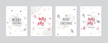 Christmas Card Set Holly Jolly...