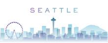 Seattle Transparent Layers Gra...