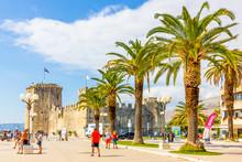 Kamerlengo Fortress In Trogir,...