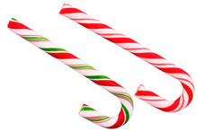 Duo Of Candy Cane, Traditional...