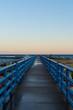Walkway at sunrise