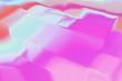 canvas print picture - hologram foil background texture as rainbow, light iridescent.