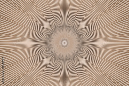 background beige flower pattern floral. digital geometric. Canvas Print