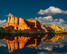 Jack's Canyon Reflection