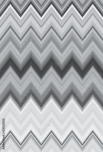 zigzag monochrome pattern chevron background. backdrop. Wallpaper Mural