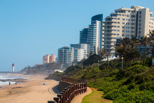 Residential Buildings And Hotels On Promenade Of Umhlanga Rocks